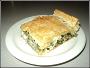 Spinach and Fetta Slice